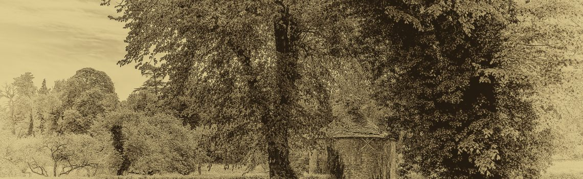 rural scene antique style