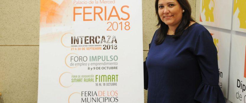 Intercaza, Fimart, Foro Impulso… La Diputación se prepara para sus ferias